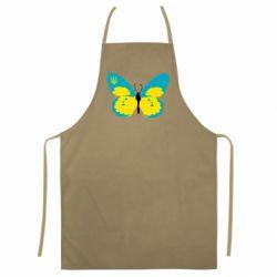 Кольоровий фартух Український метелик