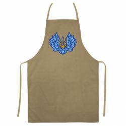 Кольоровий фартух Український тризуб арт