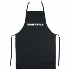 Кольоровий фартух Undertale logo