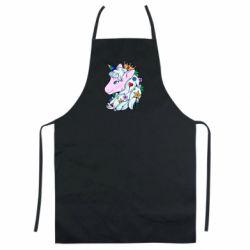 Кольоровий фартух Unicorn Princess