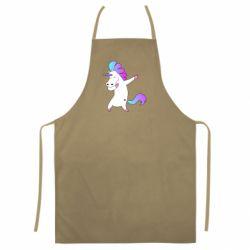 Цветной фартук Unicorn swag
