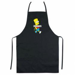 Кольоровий фартух Всі шляхом Барт симпсон