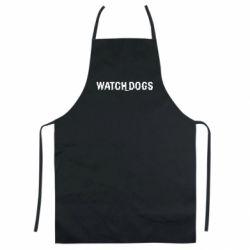 Цветной фартук Watch Dogs text