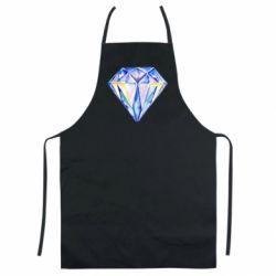 Цветной фартук Watercolor diamond
