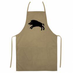 Кольоровий фартух Wild boar