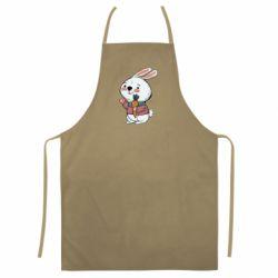 Кольоровий фартух Winter bunny