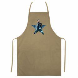 Кольоровий фартух Winter Soldier Star