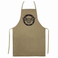Кольоровий фартух Wonder woman logo and stars