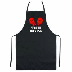 Цветной фартук World Boxing