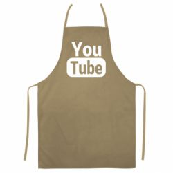 Кольоровий фартух Youtube vertical logo