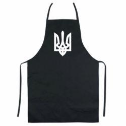 Цветной фартук Жирный Герб Украины