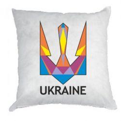 Подушка Цветной герб - FatLine