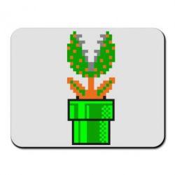 Коврик для мыши Цветок-людоед Супер Марио - FatLine