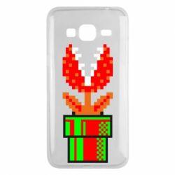 Чохол для Samsung J3 2016 Квітка-людожер Супер Маріо