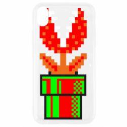 Чохол для iPhone XR Квітка-людожер Супер Маріо