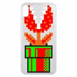 Чохол для iPhone Xs Max Квітка-людожер Супер Маріо
