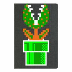 Блокнот А5 Квітка-людожер Супер Маріо