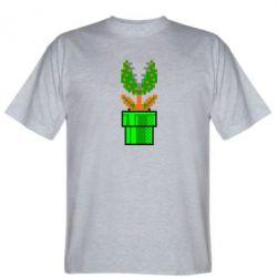 Мужская футболка Цветок-людоед Супер Марио - FatLine