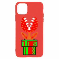 Чохол для iPhone 11 Квітка-людожер Супер Маріо
