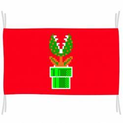 Прапор Квітка-людожер Супер Маріо
