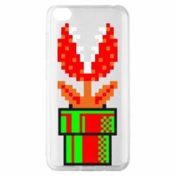 Чохол для Xiaomi Redmi Go Квітка-людожер Супер Маріо