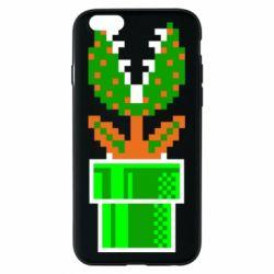 Чохол для iPhone 6/6S Квітка-людожер Супер Маріо