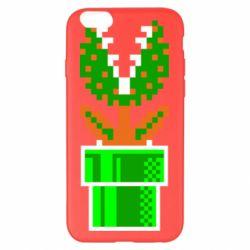 Чохол для iPhone 6 Plus/6S Plus Квітка-людожер Супер Маріо