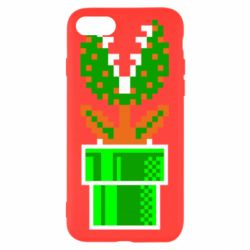 Чохол для iPhone 7 Квітка-людожер Супер Маріо