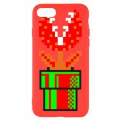 Чохол для iPhone 8 Квітка-людожер Супер Маріо