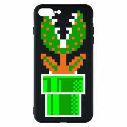 Чохол для iPhone 8 Plus Квітка-людожер Супер Маріо