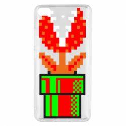 Чохол для Xiaomi Mi 5s Квітка-людожер Супер Маріо