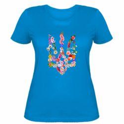 Женская футболка Цветущий герб