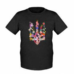 Дитяча футболка Квітучий герб