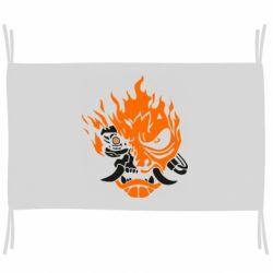 Прапор Cyberpunk 2077 fire