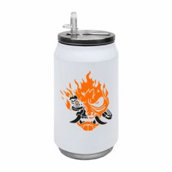 Термобанка 350ml Cyberpunk 2077 fire