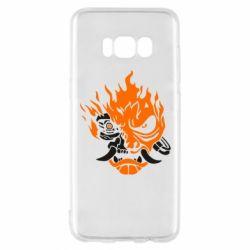 Чохол для Samsung S8 Cyberpunk 2077 fire