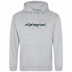 Чоловіча толстовка Cyberpunk 2077 logo
