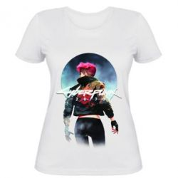 Жіноча футболка Cyberpunk girl