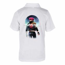 Дитяча футболка поло Cyberpunk girl