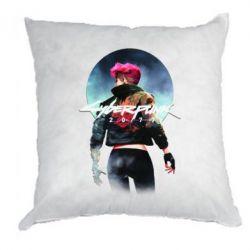 Подушка Cyberpunk girl
