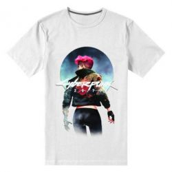 Чоловіча стрейчева футболка Cyberpunk girl