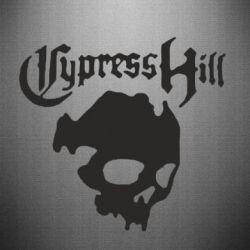 Наклейка Cypres hill Vintage