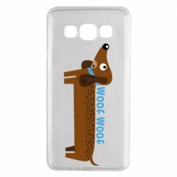 Чохол для Samsung A3 2015 Dachshund and funny text
