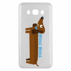 Чохол для Samsung J5 2016 Dachshund and funny text