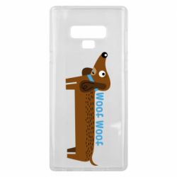 Чохол для Samsung Note 9 Dachshund and funny text