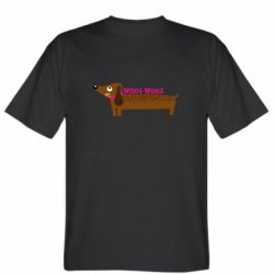 Чоловіча футболка Dachshund and funny text