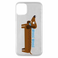 Чохол для iPhone 11 Pro Dachshund and funny text