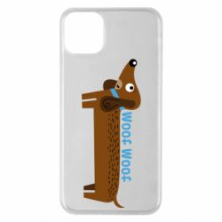 Чохол для iPhone 11 Pro Max Dachshund and funny text