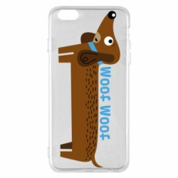 Чохол для iPhone 6 Plus/6S Plus Dachshund and funny text
