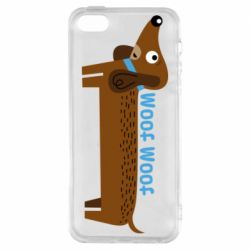 Чохол для iphone 5/5S/SE Dachshund and funny text